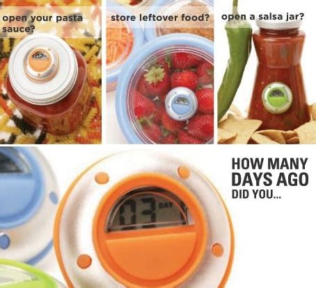 Daysago Digital Day Counter by No More Guesswork About The Age Of Leftovers With Daysago