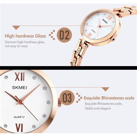 Skmei Jam Tangan Elegan Wanita Gold 1282 1 skmei jam tangan elegan wanita 1225c gold