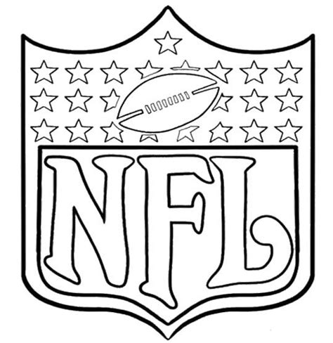 nfl football coloring pages online arms of nfl football coloring page kids coloring pages
