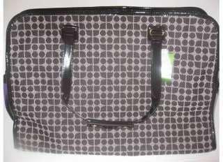 Preloved Kate Spade Ksny Classic Noel Triangular Duffle Travel Bag new kate spade rainbow noel neda wallet clutch nwt