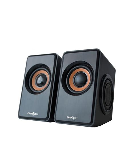 Speaker For Laptop Usb buy frontech jil 3400 2 0 computer speakers black at best price in india snapdeal