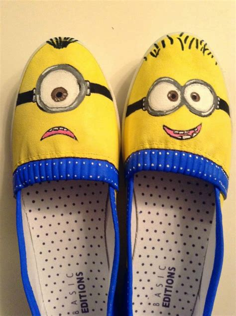 diy minion shoes creative spark link 94 two purple couches