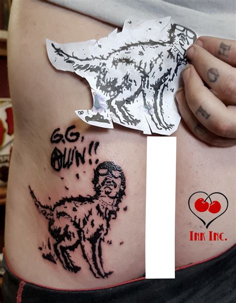 gg tattoo gg allin tattoos 2018 images pictures gg allin