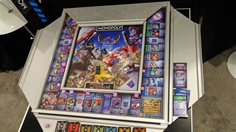 transformers monopoly board by winning solutions