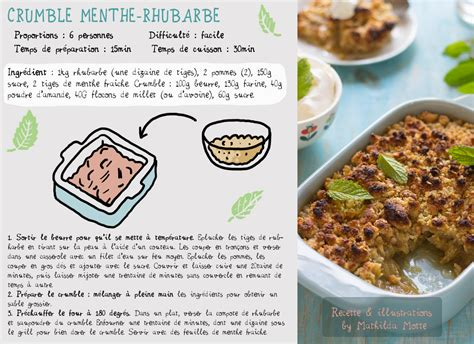 rhubarbe cuisine crumble rhubarbe recette cuisine en bandouli 232 re