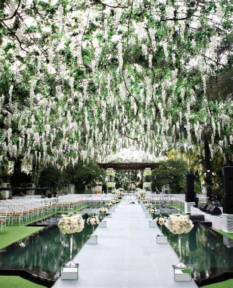 beautiful garden wedding ideas 23 stunningly beautiful decor ideas for the most