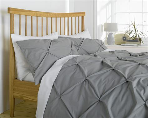 grey pintuck comforter set heart of house hadley grey pintuck bedding set kingsize