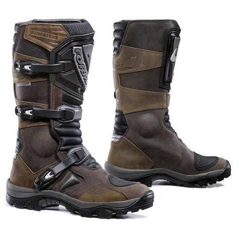 adventure motorcycle boots forma adventure boots revzilla