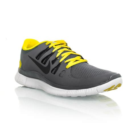 nike free 5 0 mens running shoes armory slate yellow