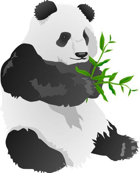 panda clipart panda clip at clker vector clip