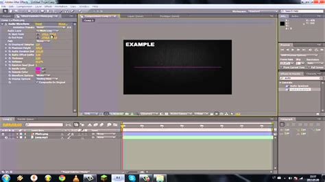 after effects cs4 tutorial adobe after effects cs4 how to make a equalizer