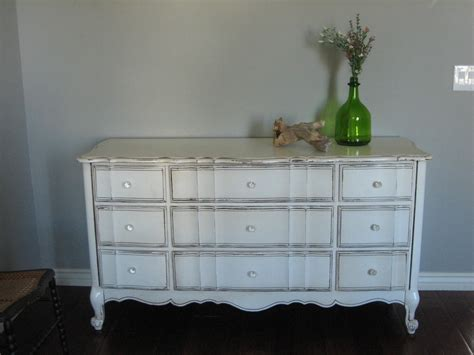 Paint A Dresser White by European Paint Finishes Antique White Dresser
