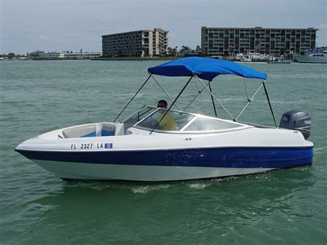 rent a sylvan bow rider 20 motorboat in madeira beach fl - Madeira Beach Boat Rental