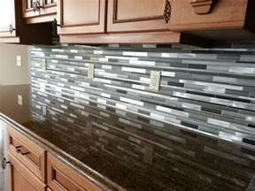 Best Tile For Backsplash In Kitchen 7 Best Kitchen Backsplash Glass Tiles House Design