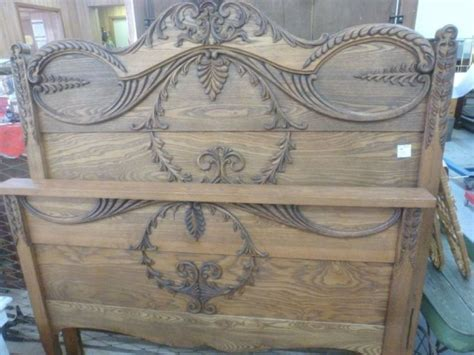 antique metal headboard and footboard antique oak full size headboard and footboard with metal