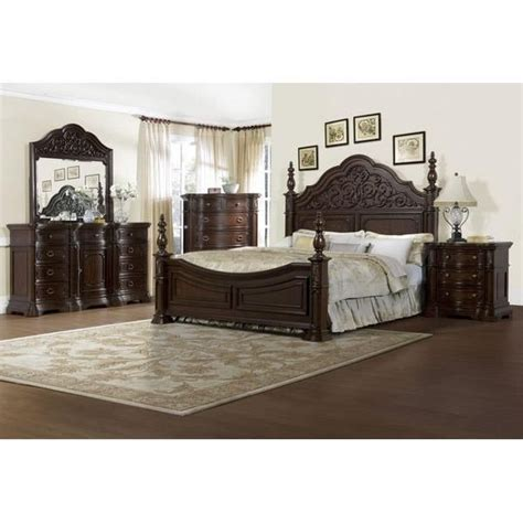Pacifica 4 King Bedroom Set by Pulaski Cassara Collection King Size Bed 518160c