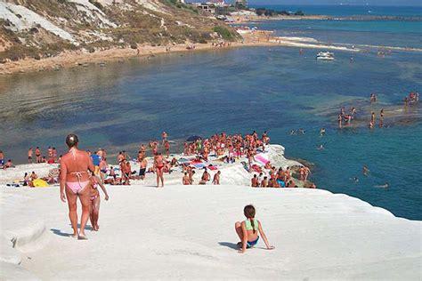 Türkische Treppe Sizilien