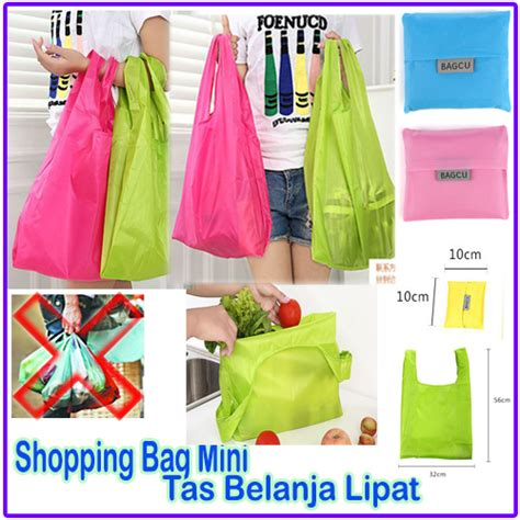 Tutorial Tas Belanja Lipat | bagcu reusable shopping bag shopping bag mini tas
