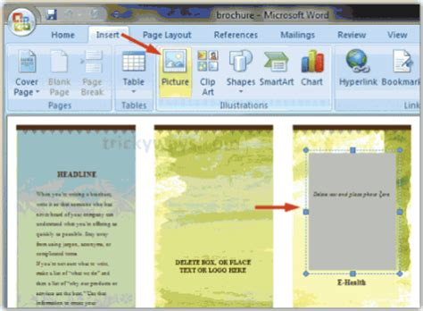 membuat brosur dengan ms word cara membuat brosur dengan microsoft word 2010