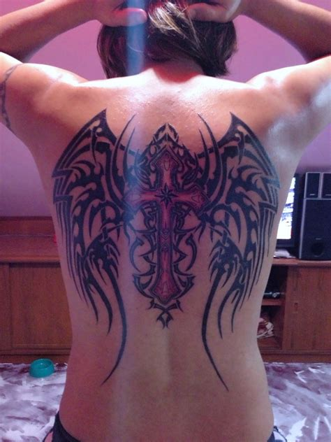 angel tribal tattoos tribal wing tattoos for pictures to pin on