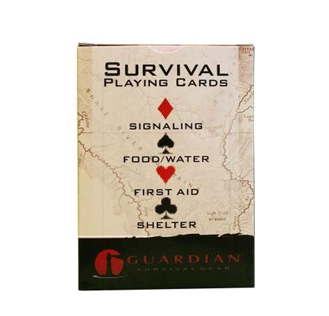 survival cards survival cards