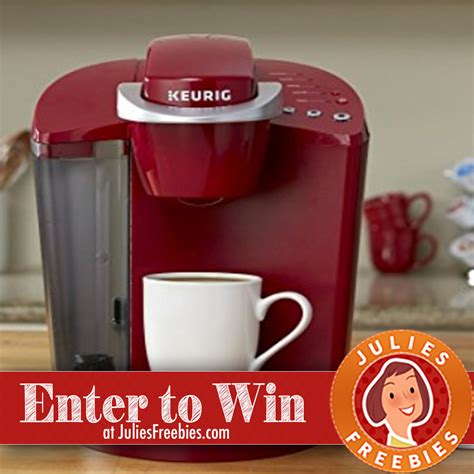 Keurig Sweepstakes 2017 - win a keurig single serve k cup coffee maker julie s freebies