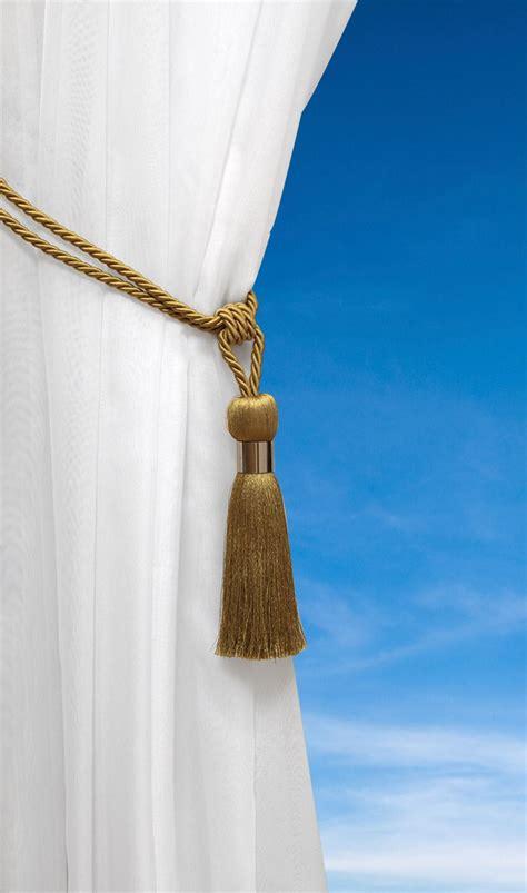 curtain rope holdbacks straptassel tie back luxury rope curtain holdbacks metal