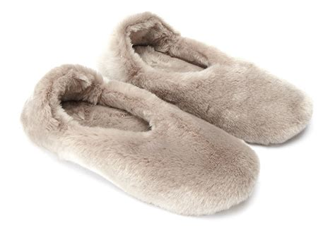 slippers white company the white company fur slippers the womens room the