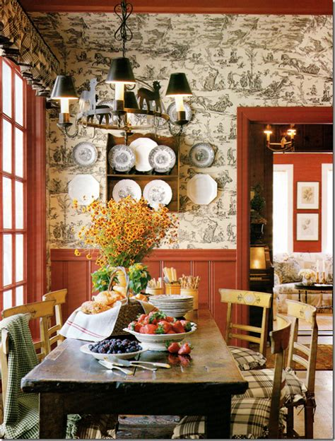 Hutch Dining Room by 63 Gorgeous French Country Interior Decor Ideas Shelterness