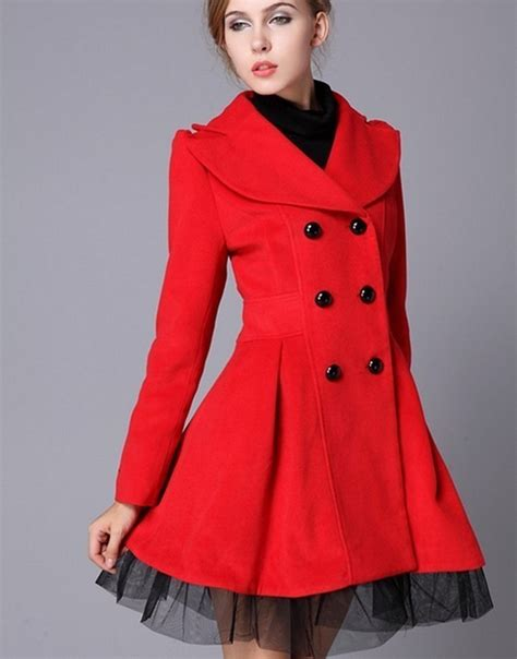 Dress Coat high quality fashion wool winter dress coat for