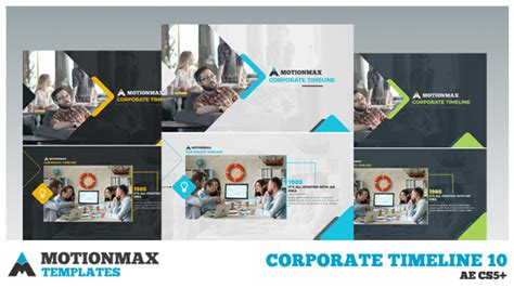 timeline after effects template corporate timeline 10 corporate after effects templates