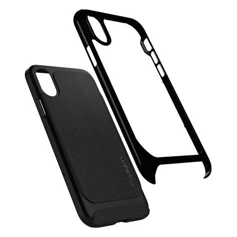 Spigen Neo Hybrid Apple Iphone X Jet Black spigen 174 neo hybrid 057cs22166 iphone x jet black spaceboy