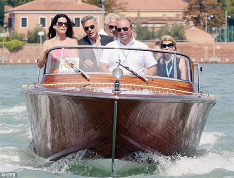 driving boat without license qld fine george clooney causes row at venice film festival for