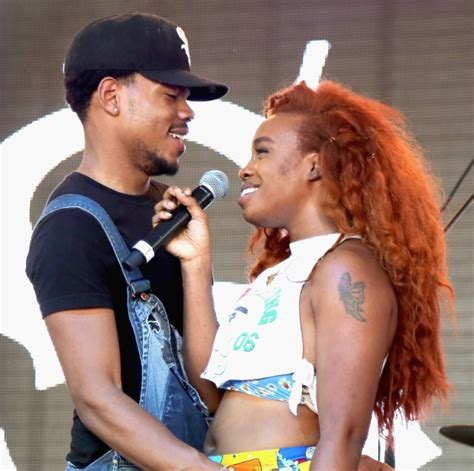 chance the rapper hair watch sza chance the rapper perform child s play