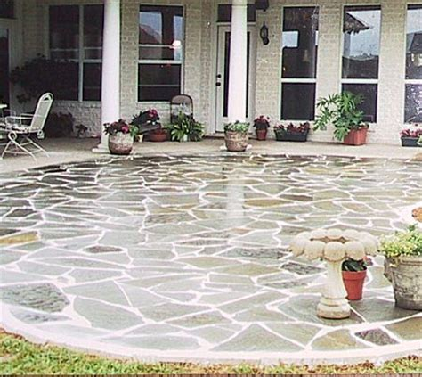 do it yourself flagstone patio