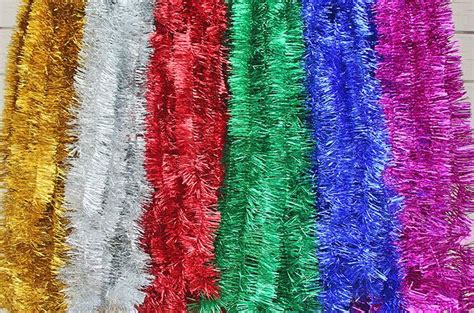 popular red tinsel buy cheap red tinsel lots from china