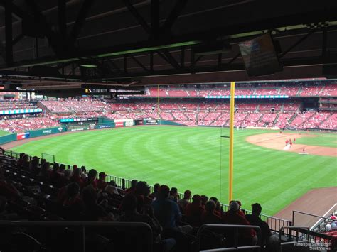 section 130 busch stadium busch stadium section lp1 rateyourseats com