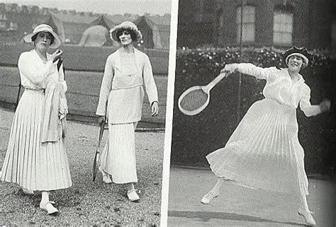 terrasse feminin ou masculin petit historique de la mode f 233 minine au tennis