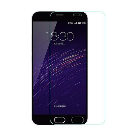 Meizu M3s Cover Tempered Glass Screen Protector Anti Gores Kaca っ0 26mm tempered glass for meizu meizu m5 m3 m2 m1 note note glass screen protector