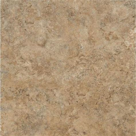 armstrong ceraroma      caramel sand groutable vinyl tile  sq ft case