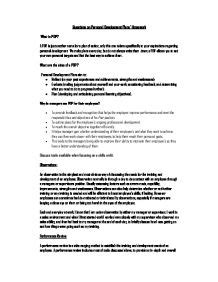 Personal Development Essay by Personal Development Plan Gcse Business Studies Marked By Teachers