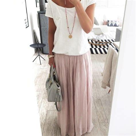 Maxi Vilia Pink 1000 ideas about chiffon maxi skirts on maxi