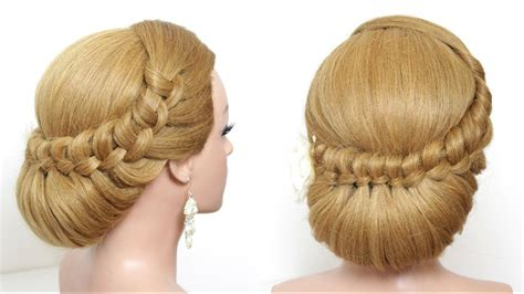 Wedding Hairstyles For Hair Step By Step by Bridal Hairstyle Wedding Updo For Hair Tutorial Step