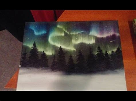 Northern Lights Salem by Painting The Northern Lights The Salem Painter Ep 03