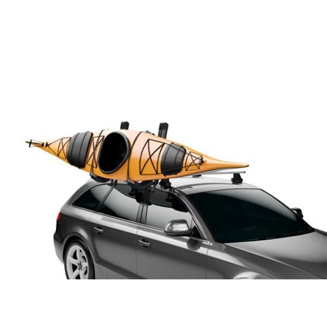 Hullavator Kayak Rack by Thule 898 Hullavator Pro Lift Assist Kayak Carrier Austinkayak
