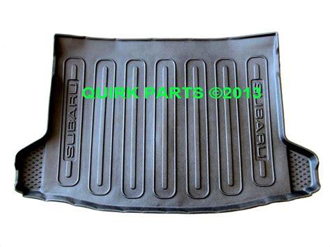cargo mats for subaru crosstrek xv buy 2013 2014 subaru xv crosstrek rear black cargo tray