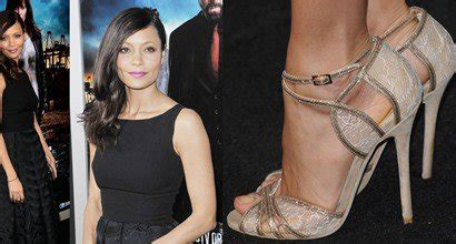 In Thandie Newtons Closet Mcqueen Pumps by Thandie Newton Shows Pride In Erdem And