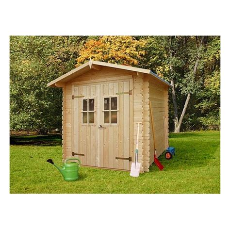 abri de jardin 4 m2 abri de jardin en bois lolland 4 32 m2 de 19 mm d 233 paisseur