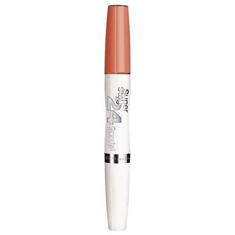 Lipstik Maybelline Glossy maybelline stay superstay 24hr lip gloss lipstick