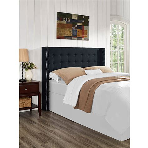 walmart headboards king nottingham king california king button tufted wingback